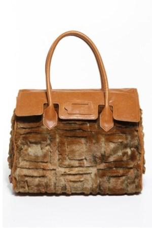 A handbag from Mark + James.