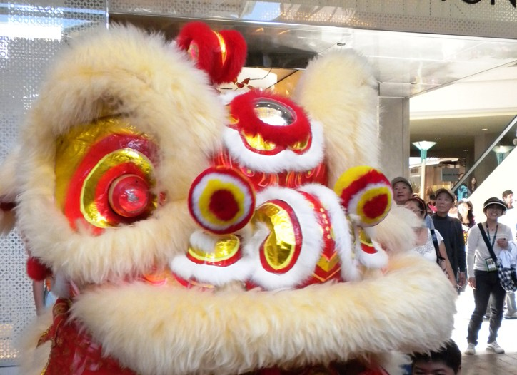 South Coast Plaza set for the Year of the Rabbit.