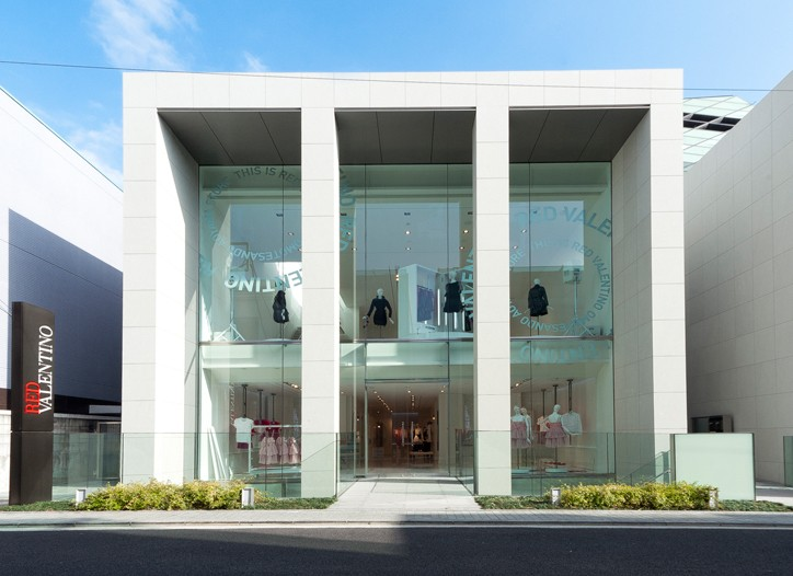 The Red Valentino store in Tokyo
