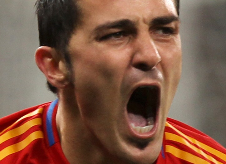 Soccer player David Villa Sánchez in Adidas' new All Adidas campaign.