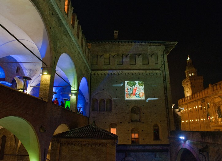 Palazzo Re Enzo, location for the 22nd Accademia del Profumo awards in Bologna, Italy.