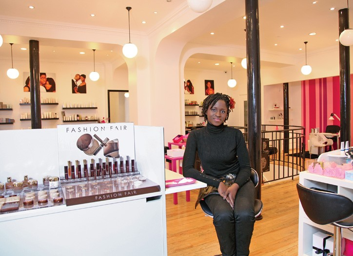Clémence Gomis of Nayenka, a 2,000-square-foot boutique that opened in Paris in December.