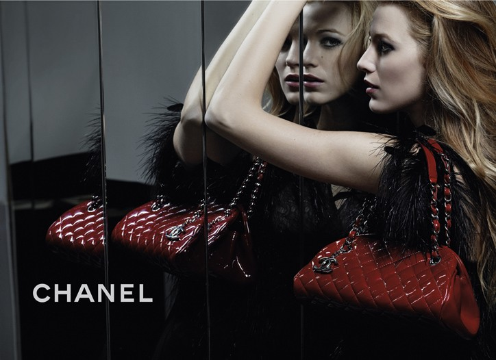 Blake Lively in the new Chanel campaign.
