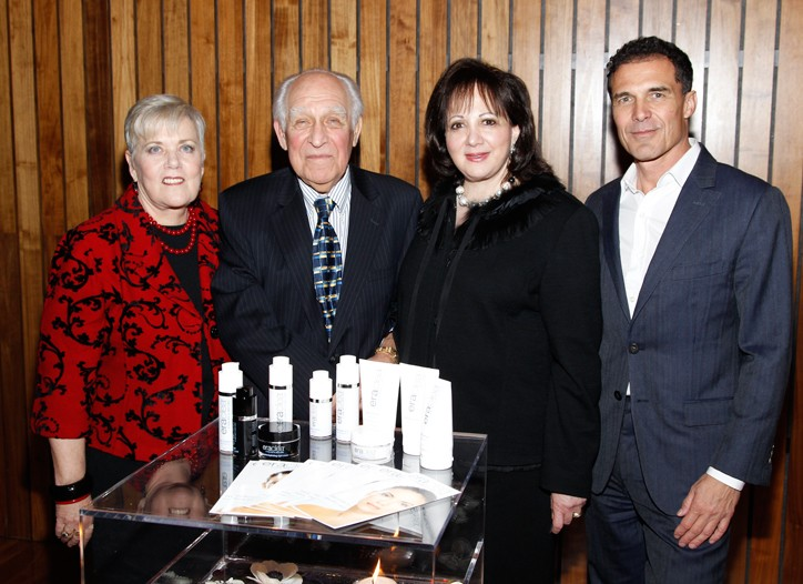 Dr. Janet Denlinger, Dr. Endre Balazs, Morgan Hare and Andre Balazs
