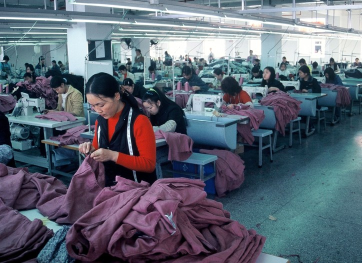 China remains the world's largest apparel producer.