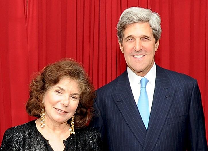 Teresa Heinz Kerry and Sen. John Kerry
