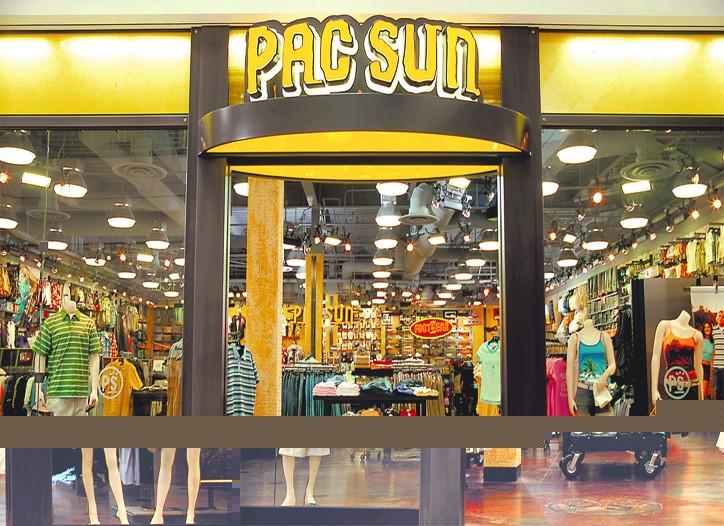 A Pacific Sunwear store.