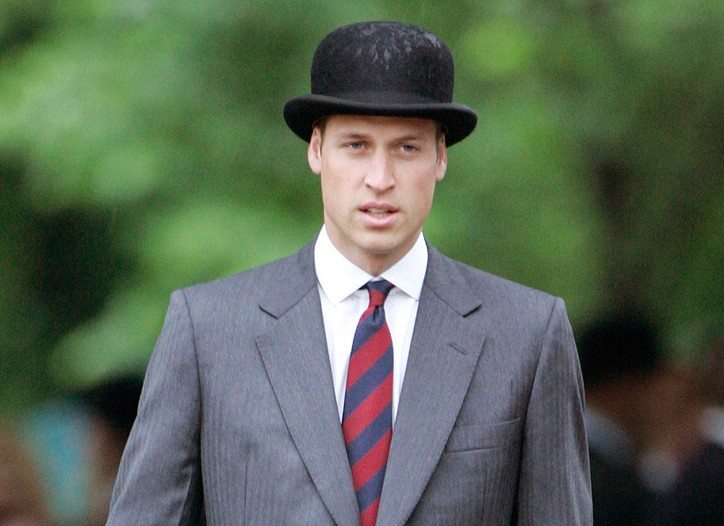 Prince William's classic British gent. look.
