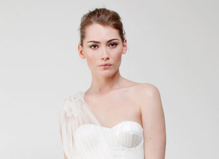 A wedding dress from Matthew Williamson's new collection.