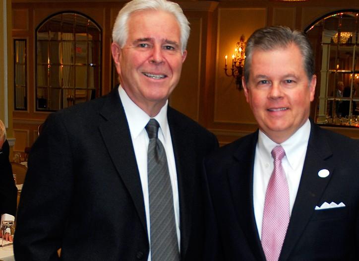Rick Darling and Kevin Burke
