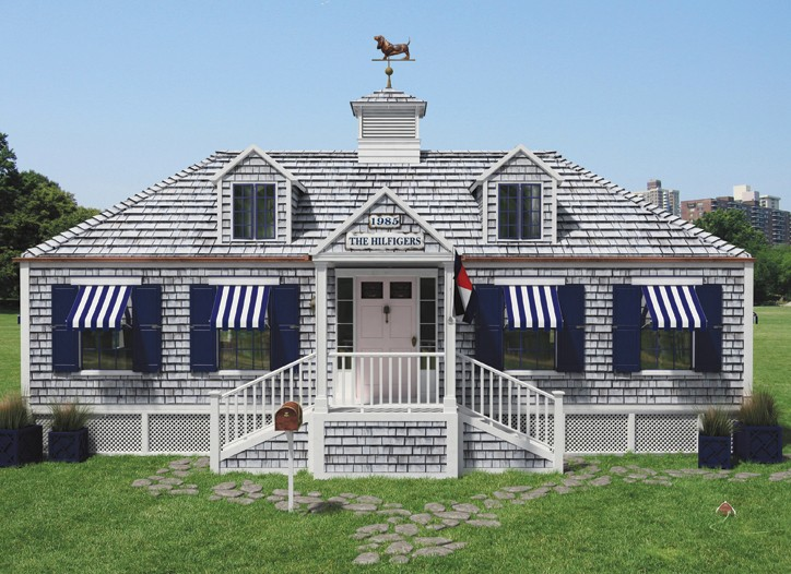 Tommy Hilfiger's 60-piece Prep World capsule collection will be sold in a replica Hamptons beach house that will travel the world.