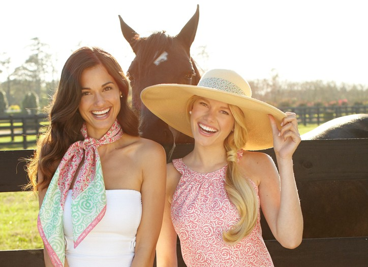 Looks from the Vineyard Vines Kentucky Derby line.
