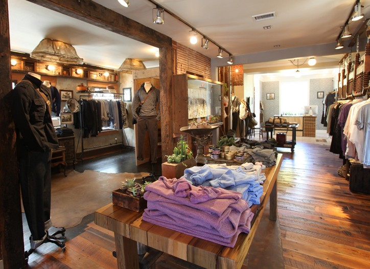 A view of Alternative Apparel's first store in Venice, Calif.