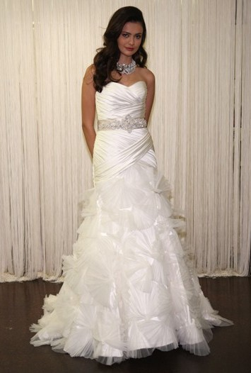 Badgley Mischka Bridal Spring 2012