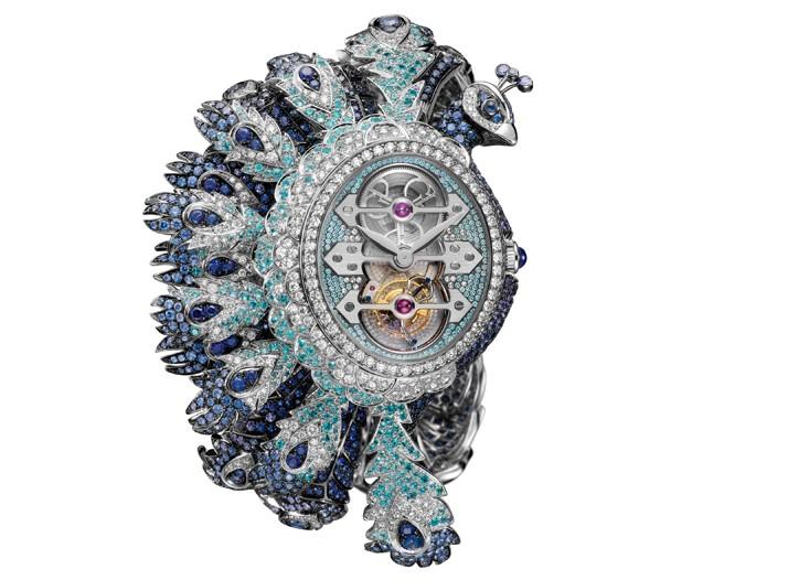 Boucheron Hera Tourbillon bracelet watch