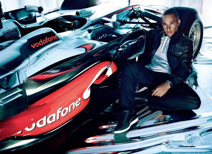 Hugo Boss is inviting consumers to dress McLaren drivers.