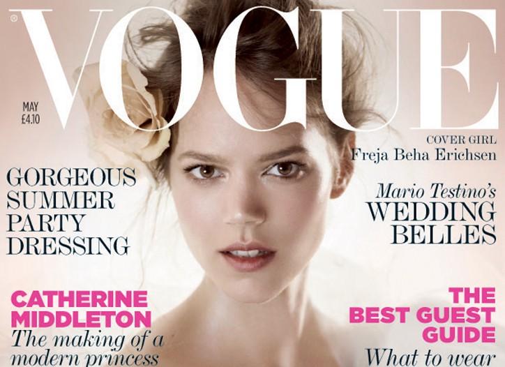 British Vogue May Issue
