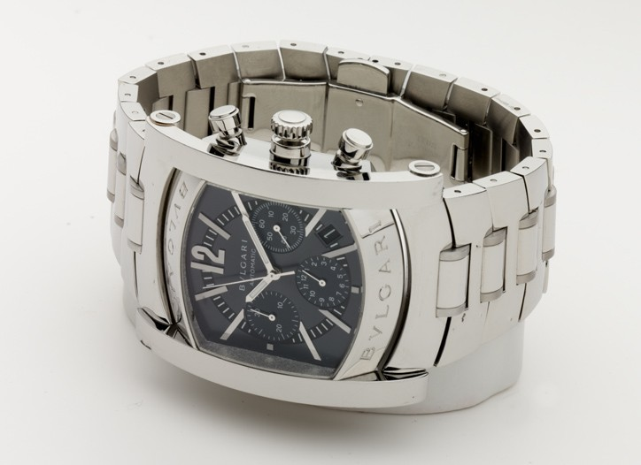 A Bulgari watch.