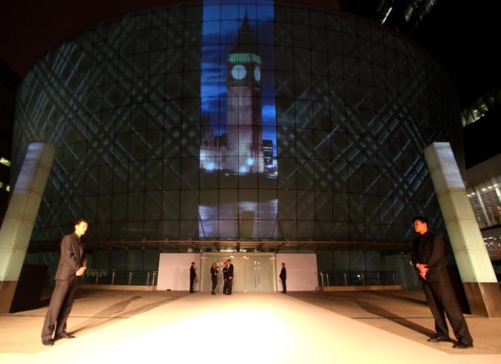 Burberry Beijing event space.