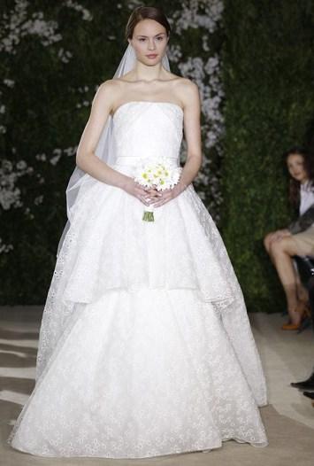 Carolina Herrera Bridal Spring 2012