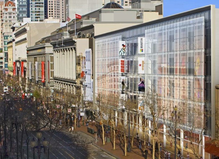 A rendering of CityPlace, set to begin construction the summer of 2011 in San Francisco.