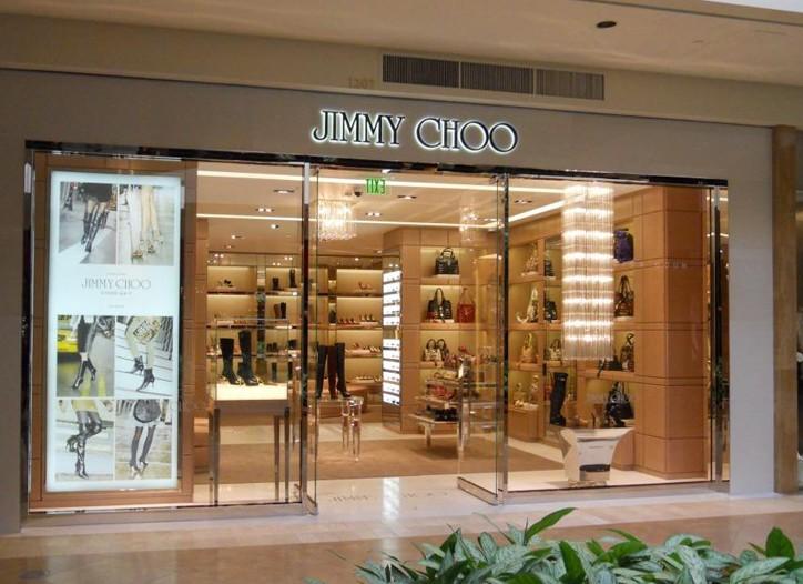 A Jimmy Choo store.