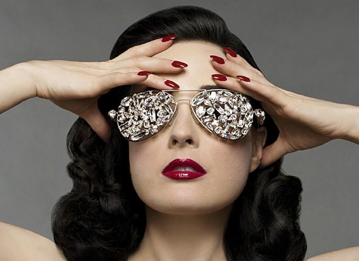 Dita Von Teese signs global fashion deal.