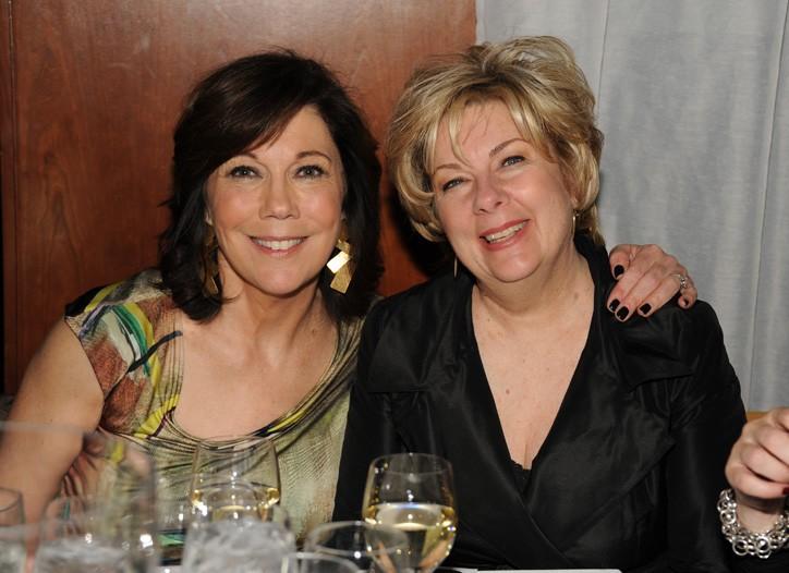 Maureen Case and Macy's Muriel Gonzales.