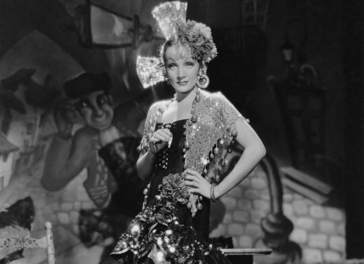 """Marlene Dietrich in """"The Devil Is a Woman,"""" 1935"""