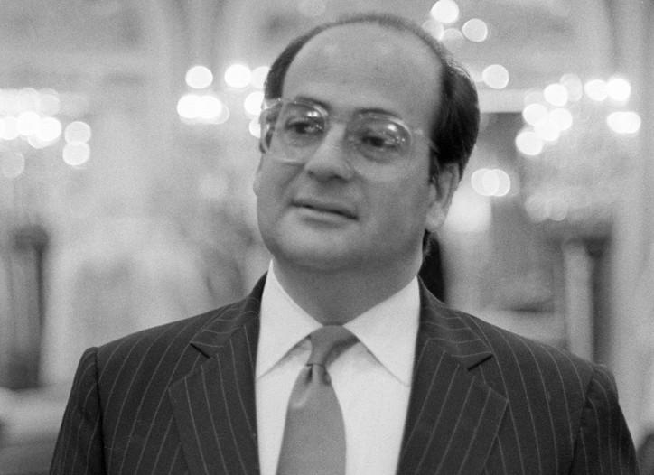 George Solovie in 1983.