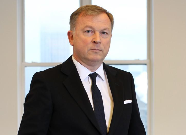 Giorgio Armani Corp. chief executive officer Graziano de Boni.