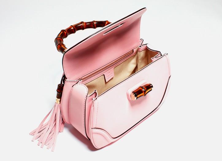 Gucci's pink New Bamboo bag.