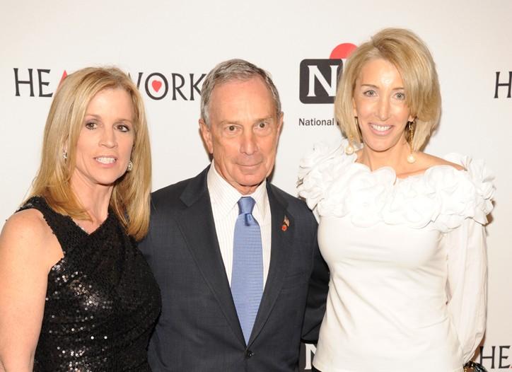 MC Jane Hanson, Michael Bloomberg and Karen Murray