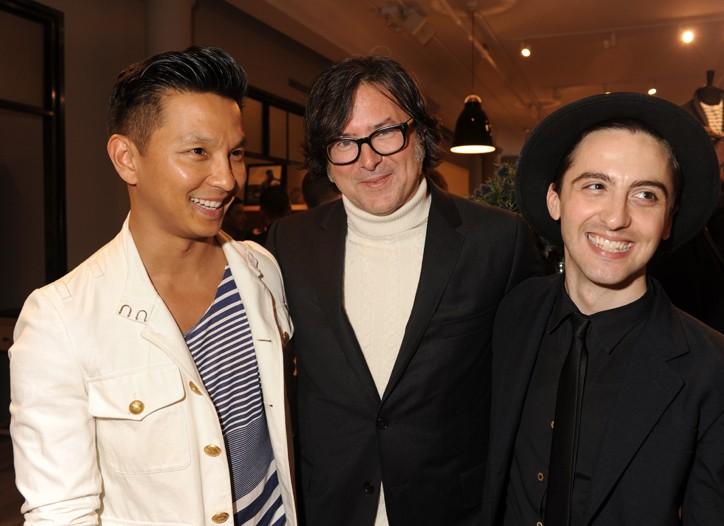 Prabal Gurung, Billy Reid and Eddie Borgo