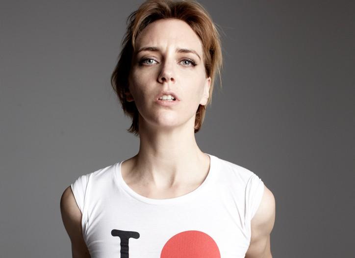 """The """"I O NY"""" T-shirt."""