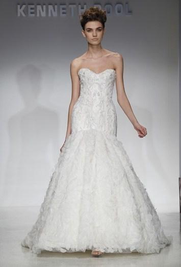 Kenneth Pool Bridal Spring 2012