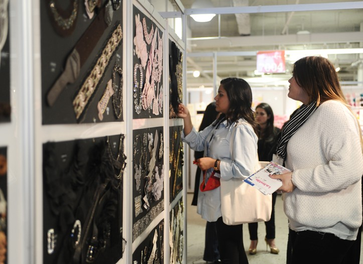 Novelty and texture appealed to buyers at the Los Angeles International Textile Show.