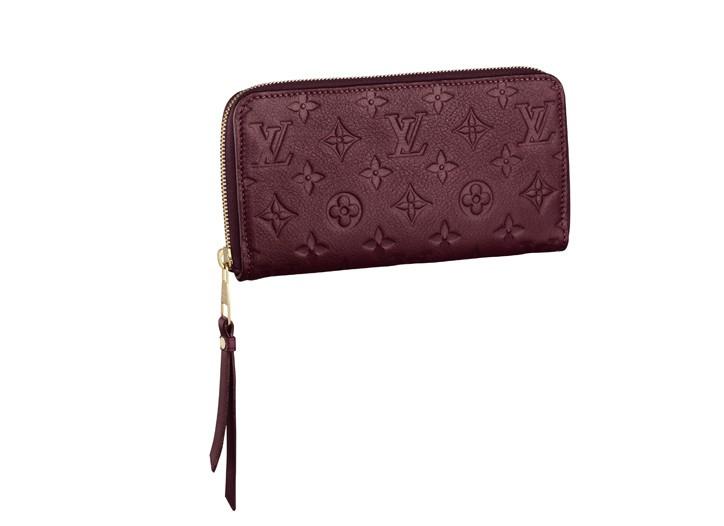 A Louis Vuitton wallet.