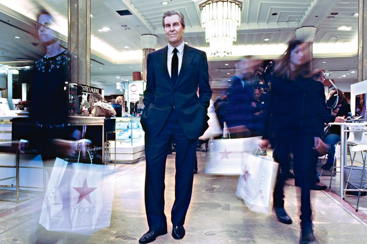 Macy's chief executive officer Terry J. Lundgren