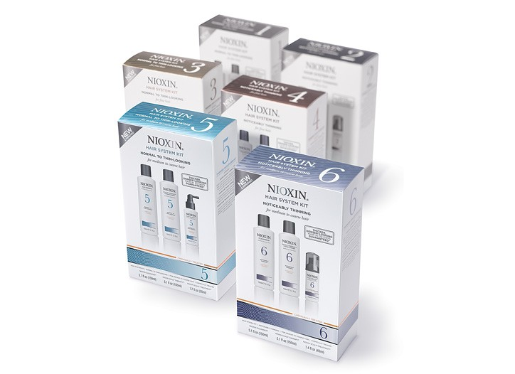 Nioxin now has six regimens for thinning hair.