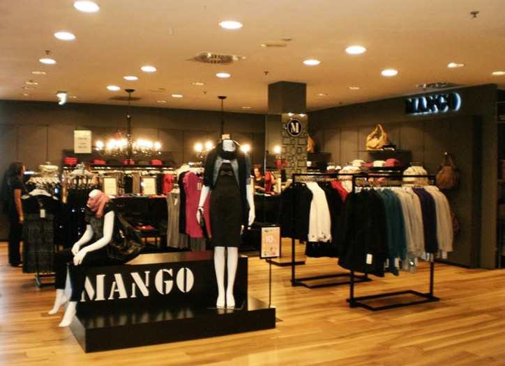 A Mango store in Italy.
