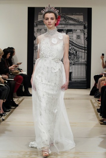 Reem Acra Bridal Spring 2012