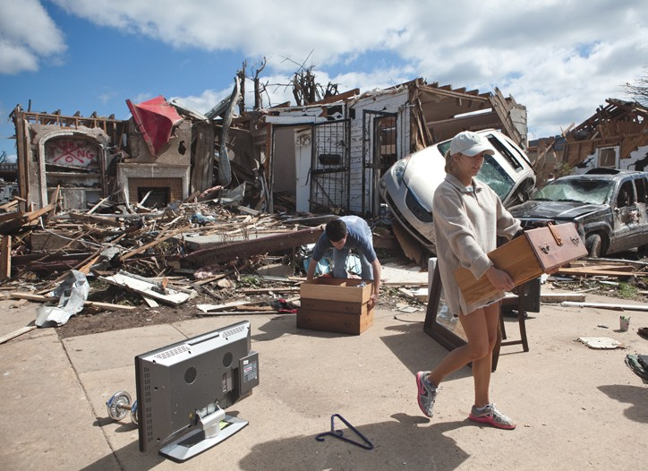 Tuscaloosa, Ala., was heavily damaged by the tornadoes.