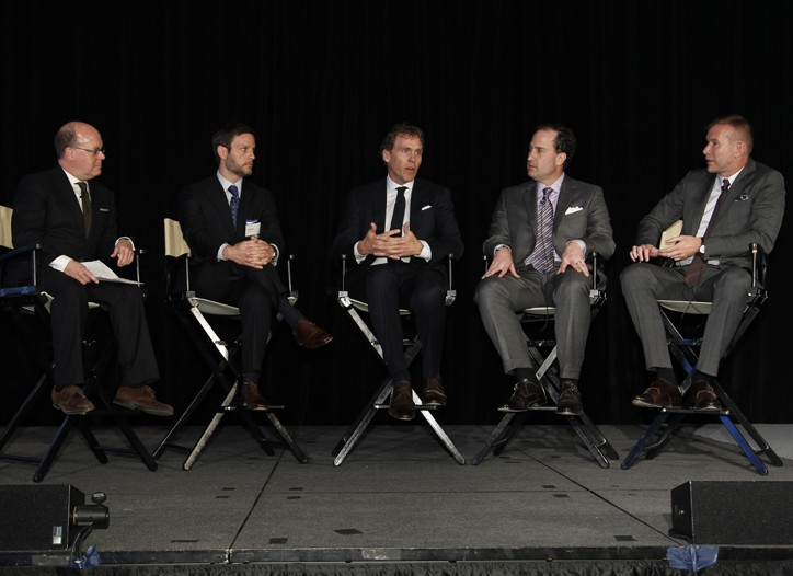 Robert Burke, Russ Patrick, Bob Mitchell, Tom Ott and Kevin Harter.