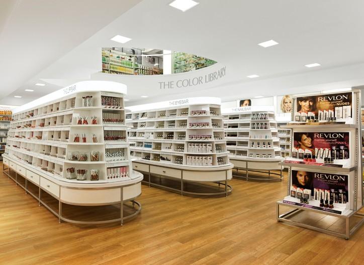 Ulta's Color Library of mass makeup brands.