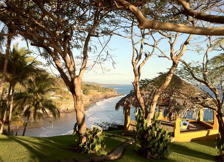 A waterfront view in El Salvador.