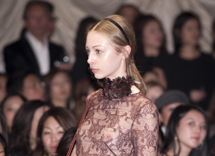 A look from the Valentino show