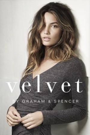 An ad for Velvet.