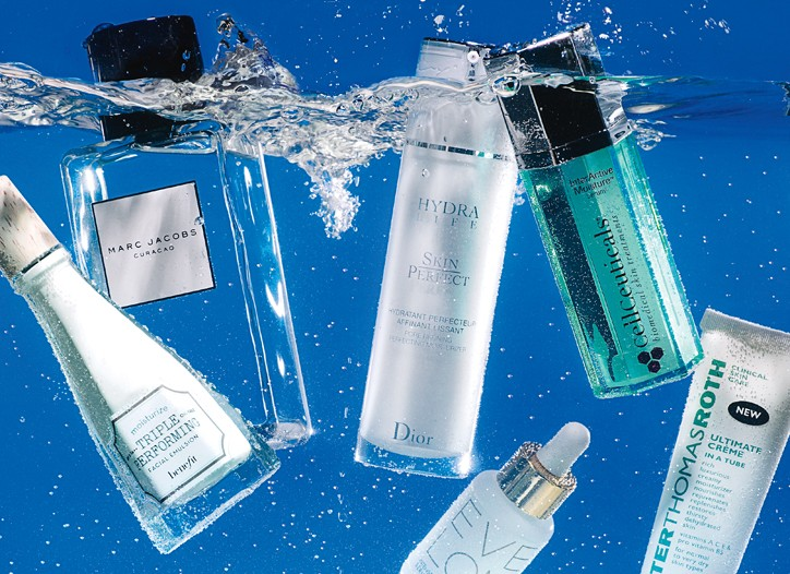 In an age of ever-sophisticated skin care launches with impossible-to- pronounce ingredients, the latest miracle worker is refreshingly simple: water.