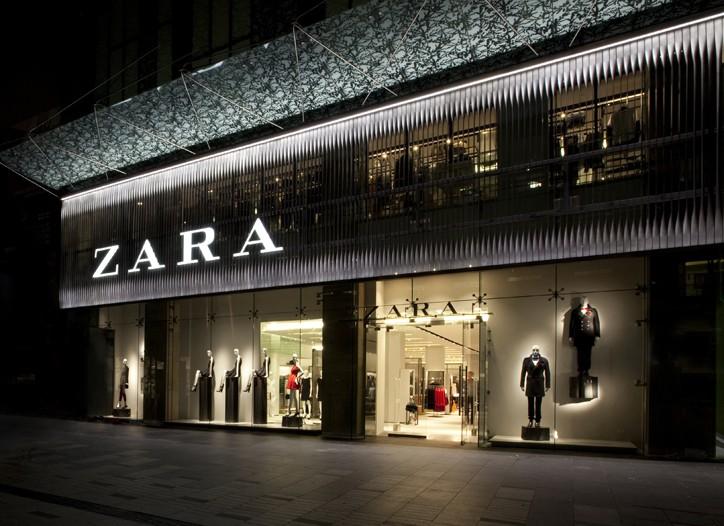 Zara's first Australian unit bowed.